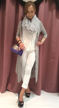 【WHITE×GRAY coordinate】192×350